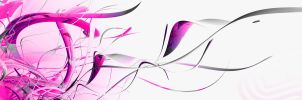 abstract pink dual wp by supersaiyandino