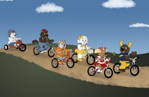 Biker Gang by KrDoz