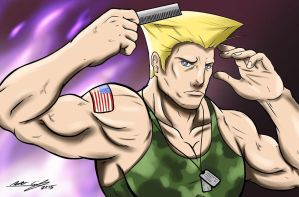 Sketch Series - Guile by DUNKMASTA