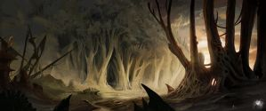 The mouth of the forest by Reicheran