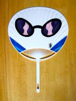Vinyl Scratch Glasses Uchiwa by JazzyTyfighter