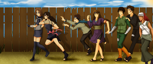Naruto Comm: New Horizion by Solstice-11