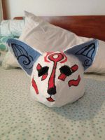 it's a Kitsune mask by Crystal-call