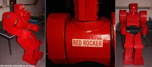 Red Rocker Costume complete by mostlymade