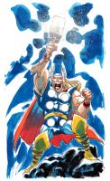 Mighty Thor by pietro-ant
