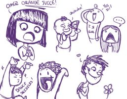 WTF Doodles by FLASOK