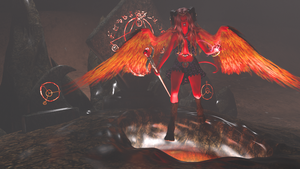 Demon Rising by cwichura