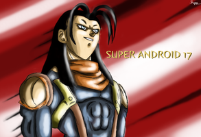 Super Android 17 by ShynTheTruth