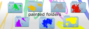 painted folders by theo-cupent42