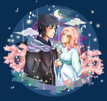 SasuSaku: Bliss by jhustinian