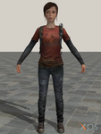 Ellie - The Last Of Us (Fanmade/Mod) by junkymana