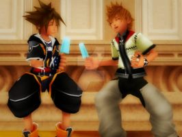 Knowing You: Sora and Roxas MMD by SoraPreston