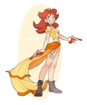 Gunner Daisy by Skirtzzz