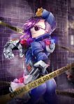 VI at the crime scene by Huksly