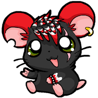 Punky Hamtaro by MorganeXD