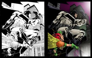 Frank Miller Tribute by scroll142