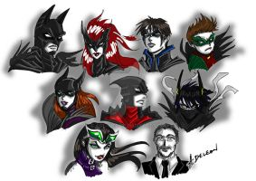 Gothams Guardians by ADL-art