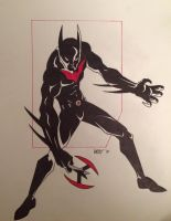 Batman Beyond by NathanWest36