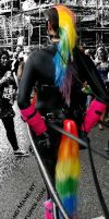 Rainbow pony tail 1 by Mystic-Creatures