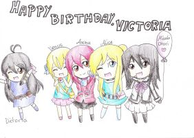 Happy Birthday, Victoria by TokiHoshiwa