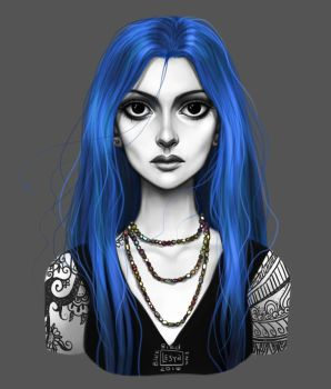 Karou by BlackBirdInk