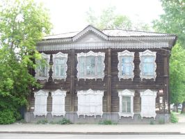 Old russian house by Garr1971