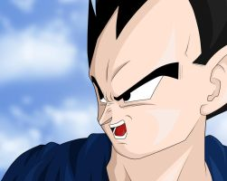 Vegeta - Yelling by cb024