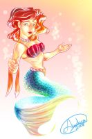 a Mermaid by Andora