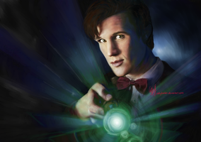 Trust Me. I'm the Doctor. by cattybonbon
