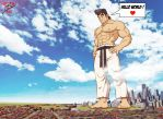 Giant Ryu, Hello world ! by leomon32