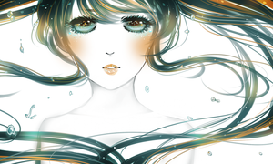 .: Miku Hatsune : Deep Sea Girl :. by melloskitten