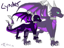 .:Cynder The Dragoness:. by TheDragonCat