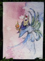 Fairy of the Whispers ATC by NycterisA