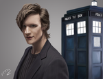 11th Doctor by revvriverse