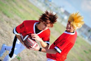 Eyeshield 21 cosplay by Sandman-AC