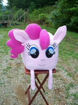 pinkie pie cube plush by davidbillups