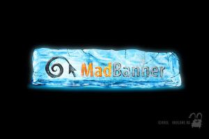 Winter logo Mad Banner by krolone