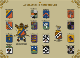 Armorial of the Aquilaan Empire by SoaringAven
