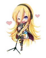 Lily Vocaloid Chibi Png by MikuMH