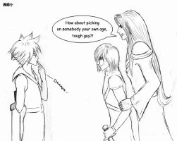 Shame On You, Cloud... by MadDogNikki