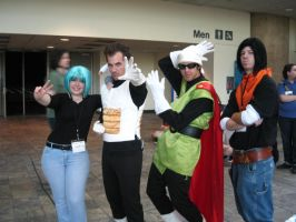 group dbz cosplay by kakarot12