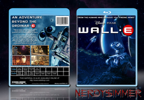 WALL-E Blu-Ray Case by NerdySimmer