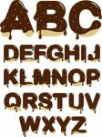 Chocolate Alphabet Icon by AnBlues