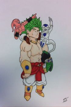 Chibi Dragonball Villains - Attack on Earth by Ebrithil22