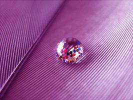 Pink Eight Ball by MateaLoncar