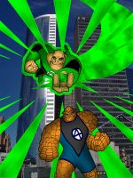Cross - Kilowog + Ben Grimm by What-the-Gaff