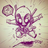Deadpool Chibi by DerekLaufman