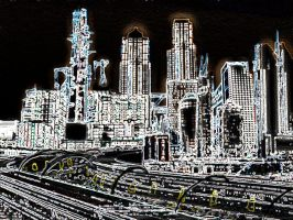 Cityscape 2 by AtomicWarpin