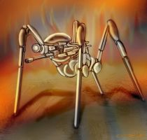 Gun Spider Concept by DennisH2010