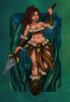 Nidalee League of Legends by majdarts